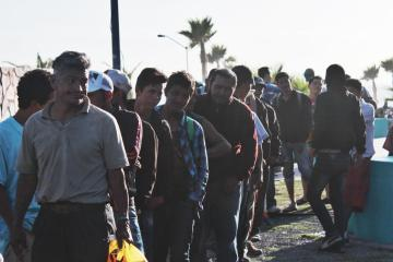 There are one thousand 208 migrants infected by covid-19 in Mexico