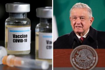 AMLO considera adelantar vacuna anti-covid a maestros