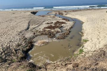 Ensenada beaches closed due to sewage spill