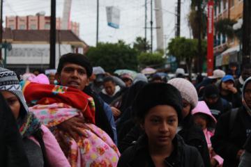 En México inicia registro de solicitantes de asilo a Estados Unidos