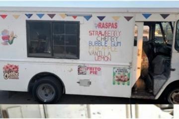 Detienen intento de tráfico de personas en camión de helados