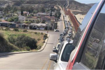 Reanudan tránsito en garita de Tecate tras intento de cruce ilegal...