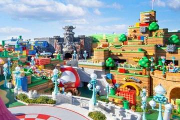 Parque de Super Nintendo World en Orlando abrirá hasta 2025