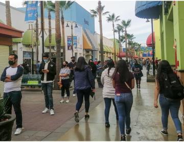 Reportan casi 500 casos activos este viernes en Baja California