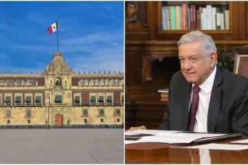 Vallas en Palacio Nacional es para evitar provocaciones: AMLO