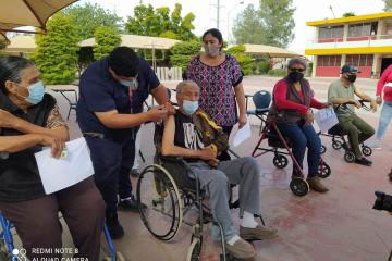 This Monday they seek to vaccinate almost 7 thousand seniors in...