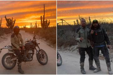 Otra celebridad más que recorre Baja California: Erik Rubín