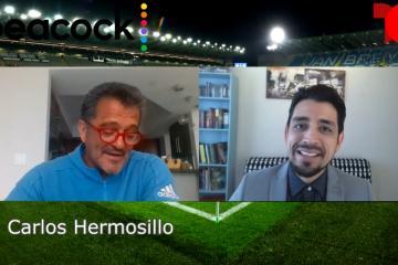Entrevista al comentarista y exfutbolista Carlos Hermosillo