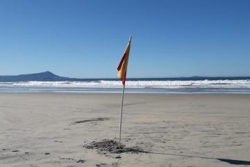 Cierran Playa Hermosa en Ensenada hasta nuevo aviso