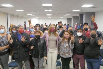 """Marina del Pilar fortalecerá principios de la 4T: """"los pobres..."""