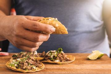 Tijuana is the city that loves tacos the most in Mexico.