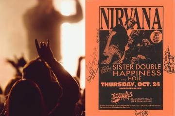 Tijuana fue la única ciudad donde Kurt Cobain tocó en México