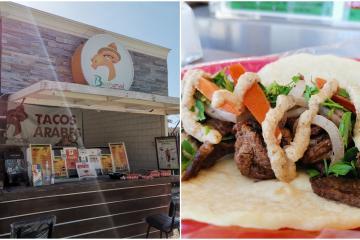 From Lebanon to Tijuana comes Basharuds Arabian tacos