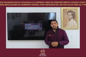 Pérez Rico pide paciencia a sector médico privado que espera vacuna