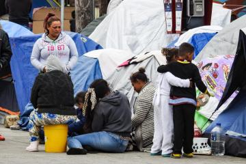 COVID-19 outbreak detected in migrant camp in Tijuana
