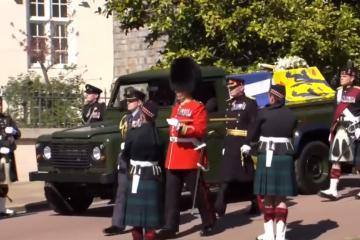 Realizan funeral del Príncipe Felipe en Castillo de Windsor