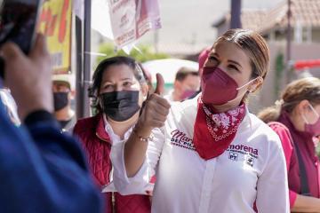 Candidata Marina del Pilar promete calles más vigiladas en Baja...