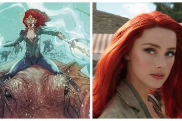 Amber Heard sí regresará como Mera para Aquaman 2