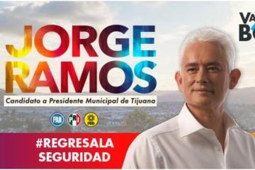 Jorge Ramos asegura que regresará la seguridad a Tijuana