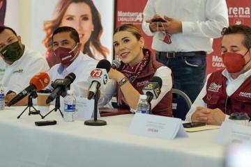 Candidata de Morena Marina del Pilar anuncia que ya no participará...