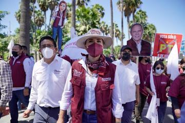 Candidata Marina del Pilar asegura que la 4T triunfará con el...