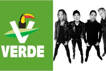 Candidato de Partido Verde promete traer a Metallica gratis si gana...