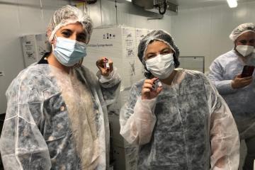 Argentina, el primer país de Latinoamerica en producir la vacuna...