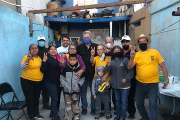 Jaime Martínez Veloz se reúne con vecinos de la colonia Los Lobos
