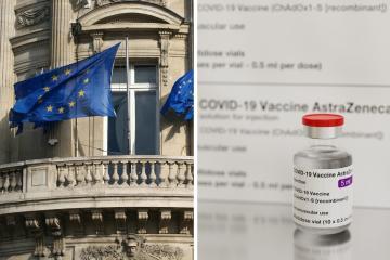 Unión Europea prepara acciones legales contra AstraZeneca por...