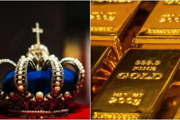 Subastan en 300 mil dólares Wii chapada en oro hecha para la Reina...