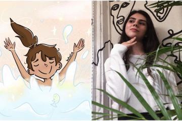 Conoce a Halia: la tijuanense que logró llevar sus ilustraciones a...