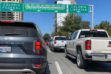 Illegal crossings increase wait times at Tijuana-California border...