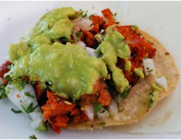 Do you love spicy food?  This Tijuana taquería will surprise you...