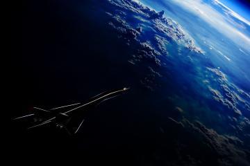Conoce el avión supersónico de Aerion y la NASA