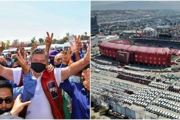 Más de 3 mil transportistas apoyan a Jorge Hank como candidato a...