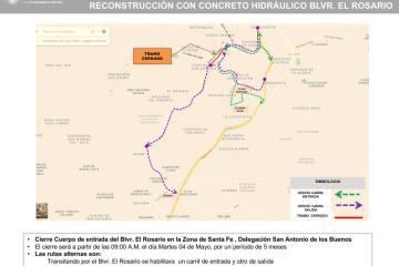 Ayuntamiento está mejorando vialidades en Tijuana para prepararse...