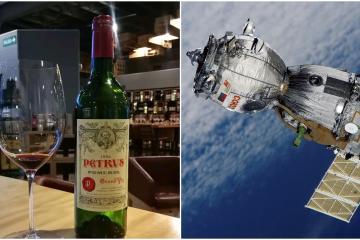 Venderán vino espacial en un millón de dólares