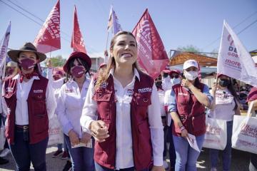 Candidata Marina del Pilar promete una nueva manera de educar en...