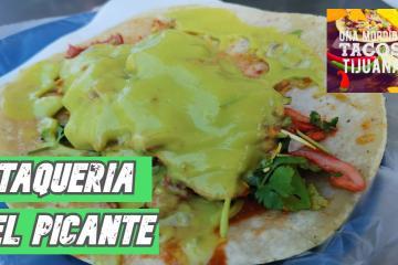 """""""Una Mordida Tacos Tijuana"""": Taquería El Picante"""
