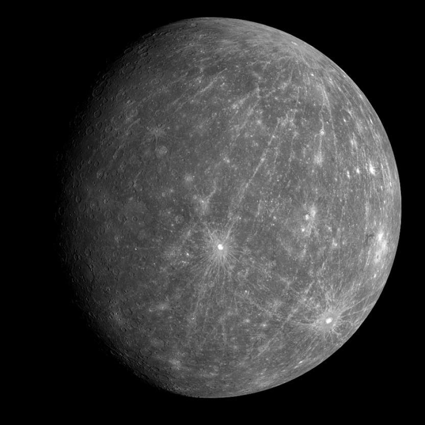 Foto de Mercurio por WikiImages en Pixabay