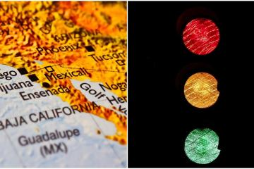 There will be no COVID traffic light per municipality in Baja...