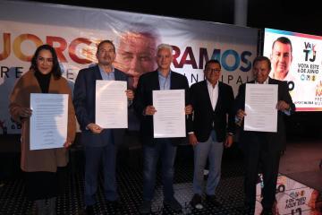 Jorge Ramos se compromete a crear un Consejo Municipal de la Salud