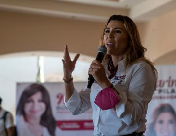 """Marina del Pilar: """"Sin educación y sin deporte no hay desarrollo"""""""