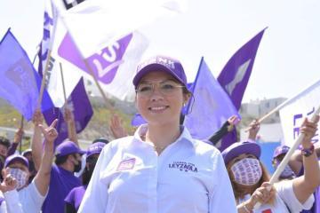 Indira Leyzaola expresa su apoyo a la policía tijuanense