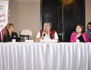 Jorge Hank apoyará a las mujeres y promoverá que emprendan negocios