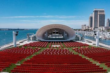 The Rady Shell presentará 40 conciertos de agosto a noviembre en...