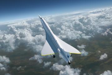 Avión Overture de Boom Supersonic estará listo para 2026