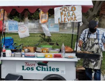 Discover the Rib Eye taco at a taquería in Playas de Tijuana