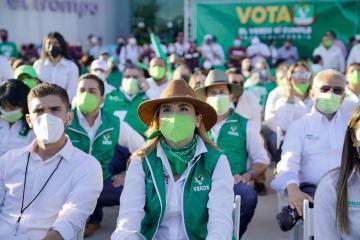 Marina del Pilar prioriza al medio ambiente para su gubernatura en...