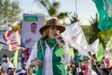 Marina del Pilar va por un gobierno ambientalista